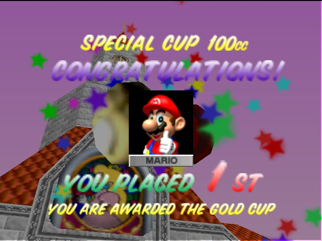 Mario Kart 64 - I WON! - User Screenshot
